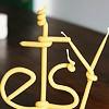 Etsy магазин винтажных предметов и товаров, сделанных вручную