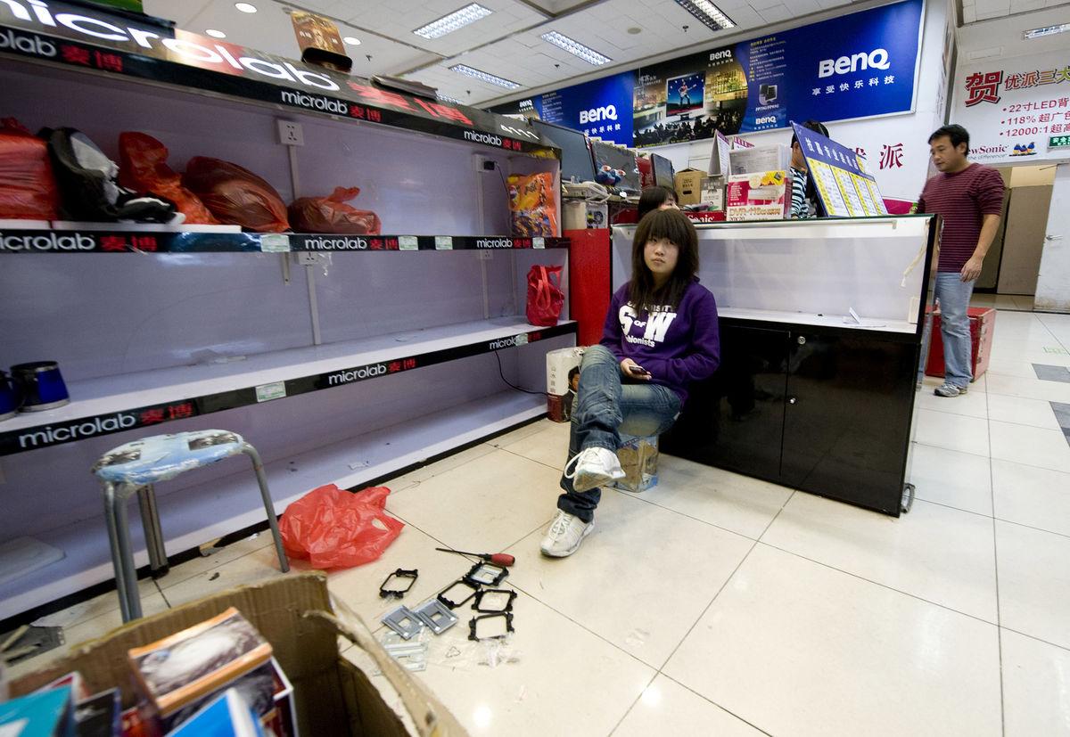 Hailong Electronics City (c) Bloomberg