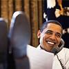 Барак Обама в рабочем кабинете