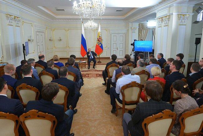 Путин и стартаперы