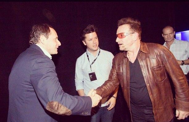 Аркадий Волож, Яндекс, Bono U2