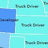 Самая популярная профессия в США — водитель