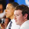 Цукерберг, Обама, политика