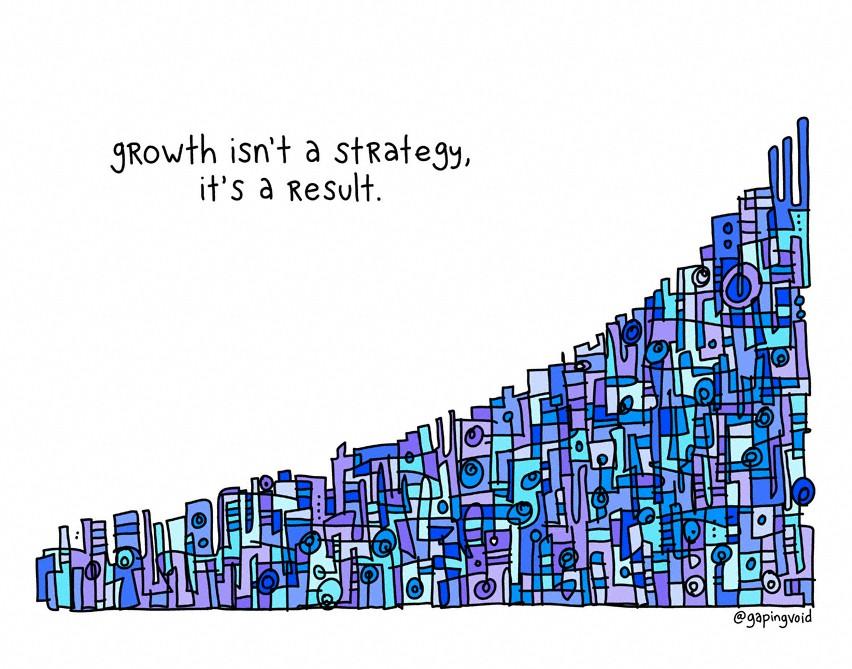 Рост - это не стратегия, а результат