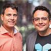 Evernote Chris O'Neill (left), Phil LIbin (right)