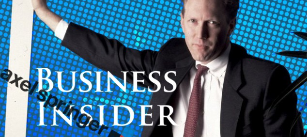 Henry Blodget, Business Insider, Axel Springer
