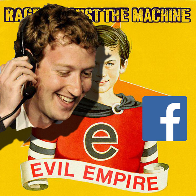 facebook шпионаж