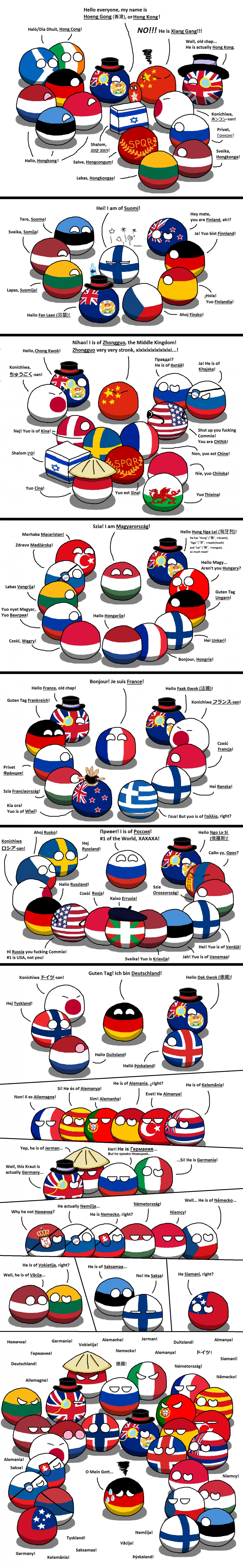 названия разных стран мира