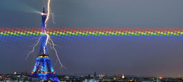 Молния Париж