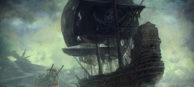 Пираты в шторм