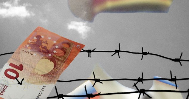 Железный занавес для движения денег в Россию из-за границы