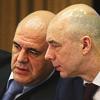 Руководитель ФНС налоговой Михаил Мишустин, Министр финансов Антон Силуанов