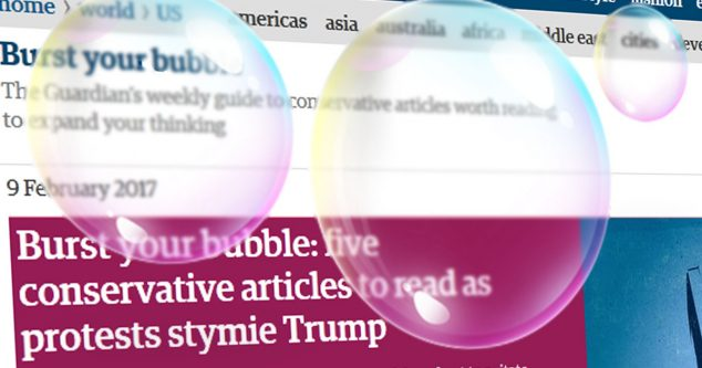 The Guardian bubble