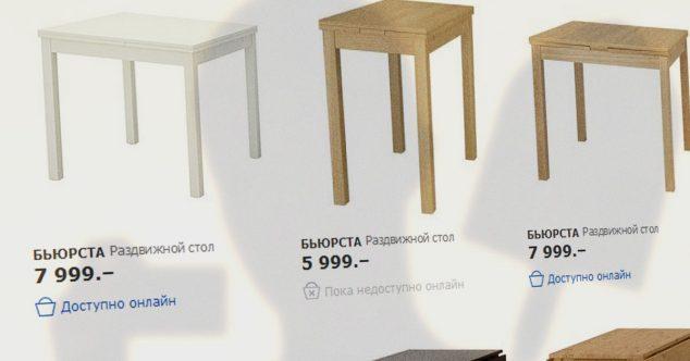 доступно онлайн товары в интернет магазине IKEA