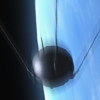 падающий спутник