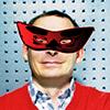 Аркадий Волож в маске