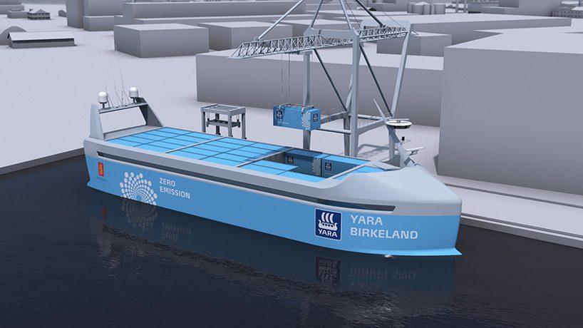 Норвежцы обгоняют весь мир на рынке беспилотных кораблей. Первый запуск состоится в 2018 году