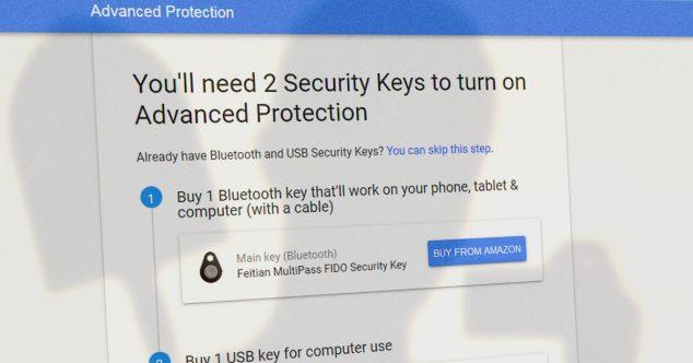 усиленная защита Gmail, Google Drive, YouTube при помощи USB или Bluetooth токена