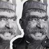 Герой фильма Отец солдата, до обработки нейронной сетью Яндекса и после