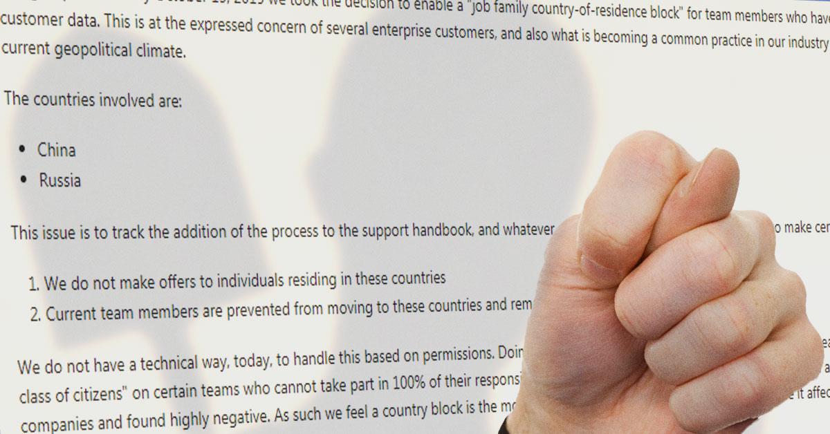 GitLab защитил русских инженеров от ошибок при выборе работодателя