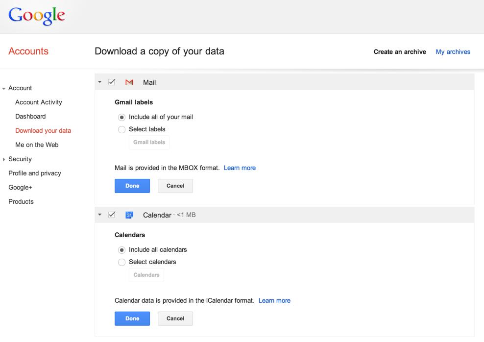 скачать файл с gmail