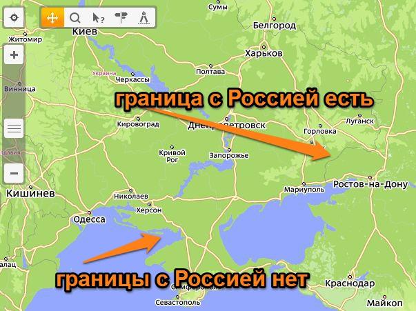 Карту крыма для яндекс карт