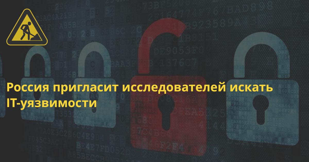 Россия заплатит хакерам 800 млн рублей за найденные IT-уязвимости до 2021 года
